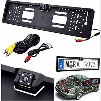 Homelink-Auto-Nachtsicht-Rckfahrkamera-170-Winkel-Farb-LED-Rckansicht-Einpark-Backup-Kamera