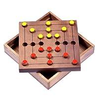 Mhle-Gr-L-Strategy-Strategiespiel-Denkspiel-Brettspiel-aus-Holz