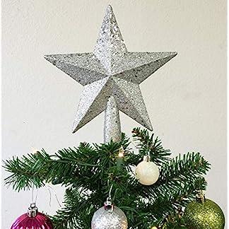 Star-Christbaumspitze-Weihnachtsbaum-Dekoration