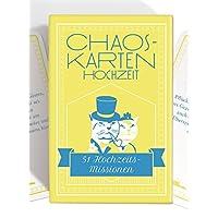 Chaoskarten-Hochzeitsspiel