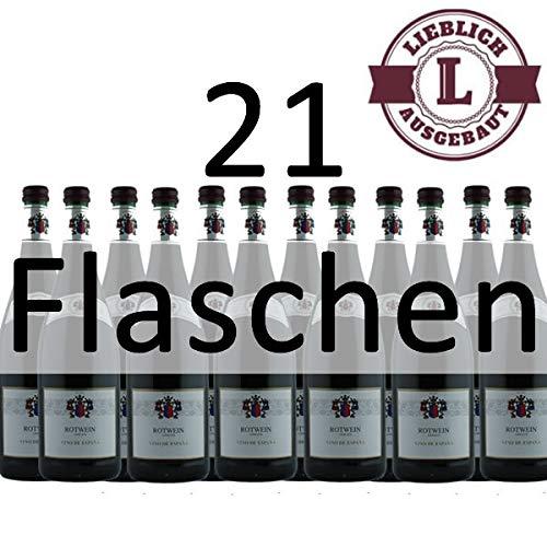 Rotwein-Vino-de-Espana-21x10l