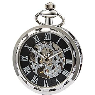 SEWOR-2017-New-Design-Single-Face-Mechanische-Hand-Wind-Taschenuhr-Full-Remasuri