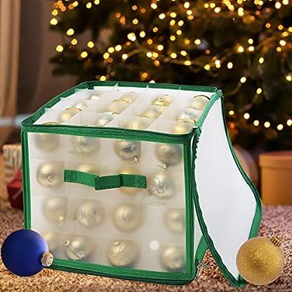 Weihnachtskugeln-Christbaumkugeln-Saisonale-Dekoration-Aufbewahrungsbox-fr-64-Weihnachtsdekorationen-Kugeln-Ornamente-Perfekte-Aufbewahrung-fr-festliche-Ornamente-Accessoires