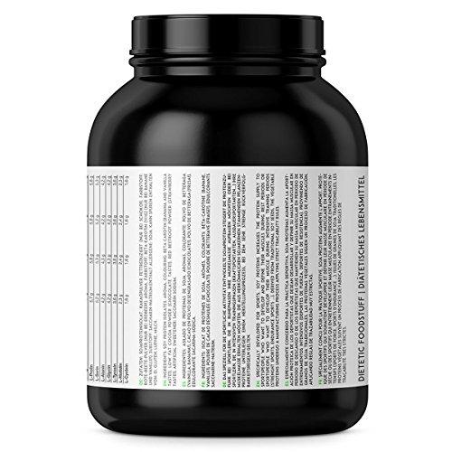 baseXnutrition, VEGAN Protein, das vegane Eiweiss für Gesundheit, optimalen Muskelerhalt und Muskelaufbau, 1000g Dose Vanille