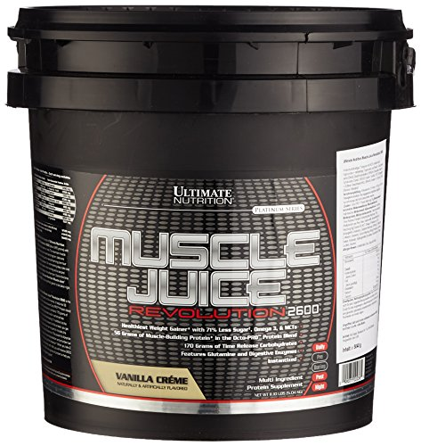 Ultimate Nutrition Muscle Juice Revolution 2600 Vanilla Creme, 1er Pack (1 x 5.040 kg)