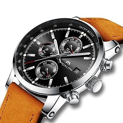 Herren-Uhren-Mnner-Wasserdicht-Sport-Chronograph-Datum-Kalender-Braun-Leder-Armbanduhr-Herren-Luxus-Kleid-Mode-Multifunktions-Analog-Quarz-Stopuhr