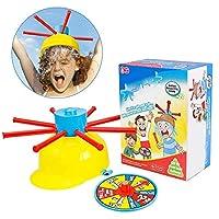 dream-cool-Wet-Head-Game-Plattenspieler-Wasser-Hte-Spielzeug-Wet-Water-Challenge-Cap-Familie-Spielzeug-fr-Kinder-Jungen-Mdchen