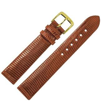 MARBURGER-Uhrenarmband-20-mm-Leder-Braun-Eidechse-Uhrband-Set-8332035000220