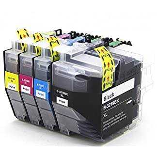 Druckerpatronen-Kompatibel-mit-Brother-LC3219XL-LC3219-fr-MFC-J5330DW-MFC-J5335DW-MFC-J5730DW-MFC-J5930DW-MFC-J6530DW-MFC-J6930DW-MFC-J6935DW-Drucker-Schwarz-Cyan-Magenta-Gelb
