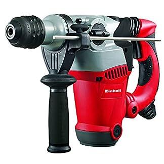 Einhell-Bohrhammer-RT-RH-32-1250-W-35-J-Bohrleistung–32-mm-SDS-Plus-Aufnahme-Metall-Tiefenanschlag-3-Bohrer-2-Meiel-Koffer-Virtual-Bundle