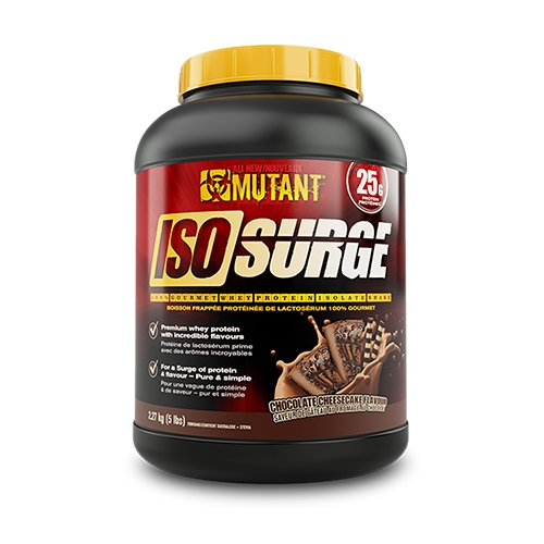 Mutant Iso Surge, 5lbs – Chocolate Cheesecake, 2540 g