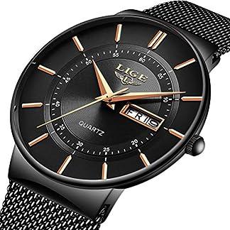 LIGE-Herren-Uhren-Wasserdicht-Mnner-Armbanduhr-Mode-Elegant-Geschft-Alle-blau-Analoge-Quarz-Herrenuhr-fr-Mann-mit-Edelstahl-Masche-Kalendar-Simple-Freizeit-Armbanduhren-Uhr-Herren-Kleid