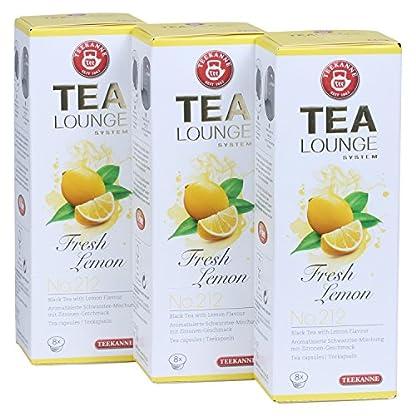 Teekanne-Tealounge-Kapseln-Fresh-Lemon-No-212-Schwarzer-Tee-3×8-Kapseln