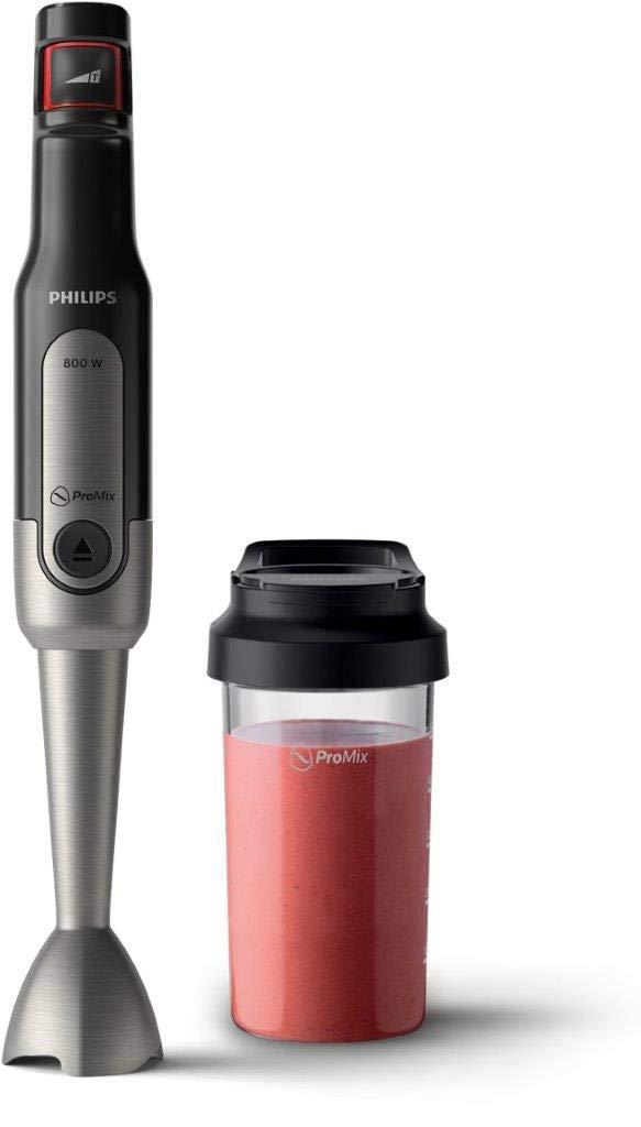 Philips-Stabmixer-Viva-800W-SpeedTouch-inkl-2-in-1-Togo-Trinkflasche-edelstahl