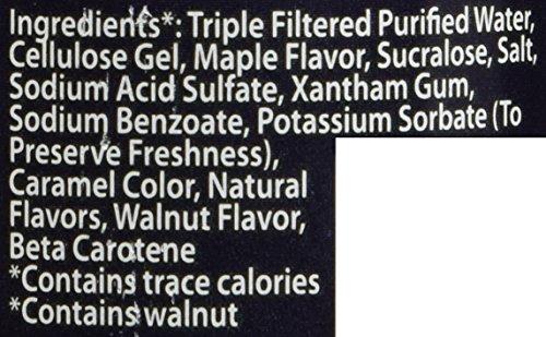 Walden Farms Maple Walnut Sirup kalorienfrei