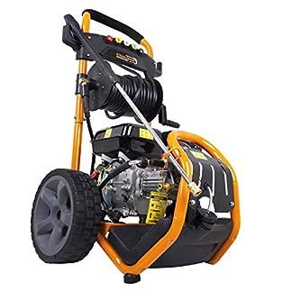 Strahlemann-Benzin-Hochdruckreiniger-SM-LB180D-Druckreiniger-5-x-Dse-Hochdruckpistole-7-PS-Druck-220-bar-max-Frdermenge-540-lh-ideal-fr-Terasse-Auto-und-Garten
