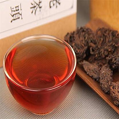 China-Puer-Tee-150g-033LB-reifer-Tee-10-Jahre-alt-Pu-erh-Baum-Natur-goldene-Knospe-voll-fermentierten-Bio-gesunde-Ernhrung-Roter-Tee-Schwarzer-Tee-Chinesischer-Tee-Puer-Tee