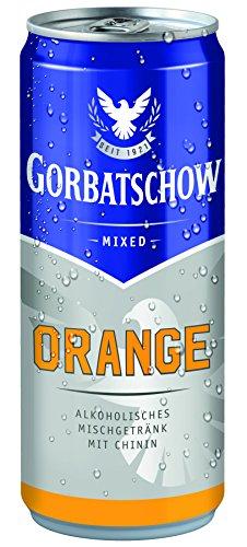 Gorbatschow-Orange-Wodka-Dose