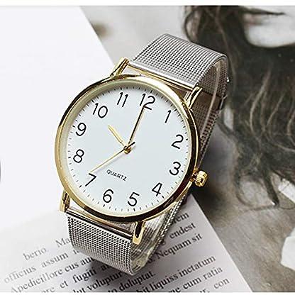 Cysincos-Unisex-Klassisch-Armbanduhr-Quarz-Analog-Mnner-Einfach-Handgelenk-Uhren-mit-Edelstahl-Armband-Quarzuhr-fr-Damen-und-Herren
