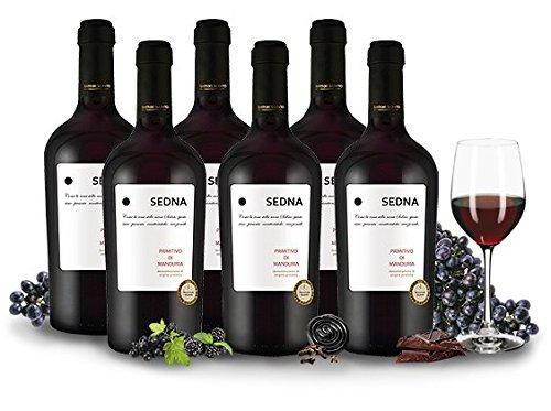Primitivo-di-Manduria-SEDNA-Apulien-Italien-Vorteilspaket-6-Fl-Rotwein