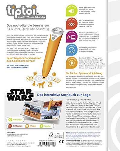 Ravensburger-tiptoi-Buch-Star-Wars-Der-Weg-der-Jedi-Kinder-Yoda-Wandposter-by-Collectix-tip-toi-starwars