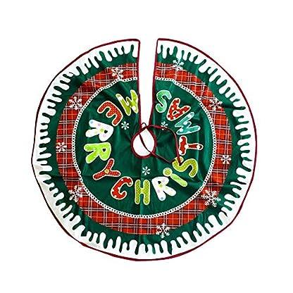 Baumdecke-Weihnachtsbaum-Rock-Christbaumdecke-Rund-Weihnachtsbaumdecke-Christbaumstnder-Teppich-Neujahr-Weihnachtsbaum-Dekoration-90cm