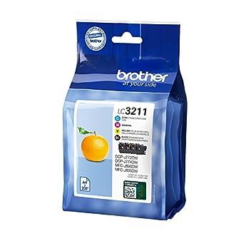 Brother-LC-3211VAL-200-Seiten-schwarz-cyan-magenta-gelb-Tintenpatrone-Tintenpatronen-DCP-J774DW-MFC-J890DW-MFC-J895DW-Standard-Ertrag-200-Seiten