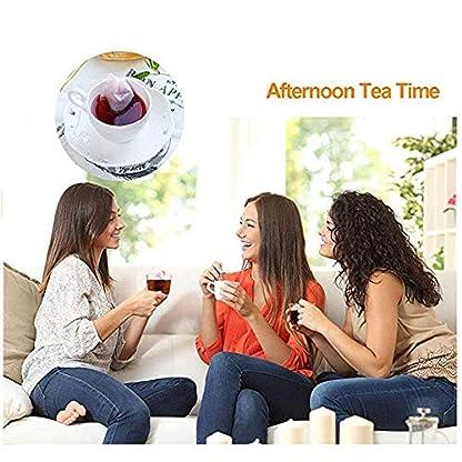 Ideapark-100tlg-Teebeutel-feine-Teefilter-Selbstbefllbar-Einweg-Teabag-Drawstring-Teebeutel-Leere-Teebeutel-Taschen-7X-9cm-fr-Tee-Obsttee-Teeblumen-Gewrz-Kruterpulver