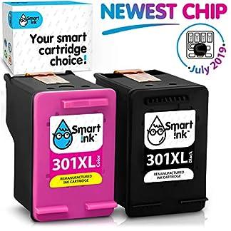 Smart-Ink-Kompatibel-Druckerpatronen-Tintenpatronen-fr-HP-301XL-2-Multipack-Schwarz-Farbige-Patrone-hoher-Kapazitt-fr-Deskjet-1000-1010-1050-1510-2050-2540-2541-3000-3050A-3510-Envy-4500-5530