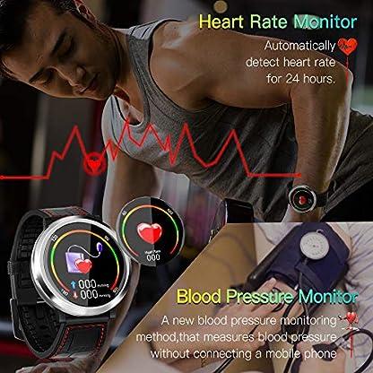 Zagzog-Bluetooth-Smartwatch-Sportuhr-Fitnessuhr-Intelligente-Armbanduhr-mit-Schrittzhler-Pulsmesser-Schlafmonitor-Kompatibel-mit-IOS-Android