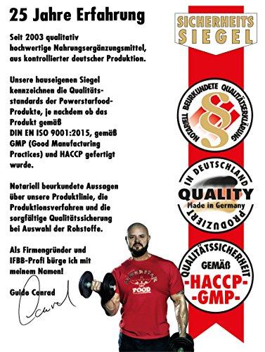 WEIGHT GAINER für HARDGAINER & MASSEPHASE – 406 kcal pro Kalorienshake – für mehr Masse, Kraft & schnelleren Muskelaufbau – 1600 g Zip-Beutel – Made in Germany (Vanille, 4800 g = 3 Beutel)