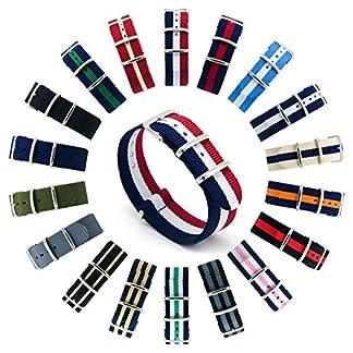 CIVO-Armband-Uhrenarmbnder-Nato-Uhren-Armband-Premium-Ballistic-Nylon-Uhrenarmband-Ersatzarmband-Edelstahl-Wlbung-18mm-20mm-22mm-mit-Top-Frhlings-Stab-Werkzeug-und-4-Spring-Bars-Bonus
