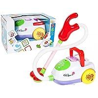 PREMIUM-Kinderstaubsauger-Cleaner-Spielzeug-Staubsauger-fr-Kinder-Soundeffekte-Saugfunktion-Schmutz-Bllchen