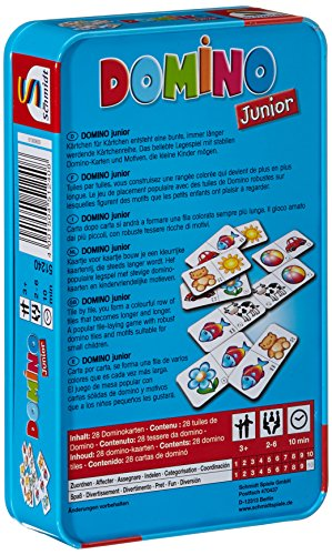 Schmidt-Spiele-51240-Domino-Domino-Junior-in-Metalldose