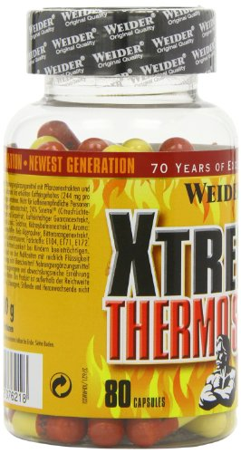 Weider, Xtreme Thermo Stack, 1er Pack (1x 80 Kapseln)