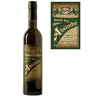 Premium-Absinth-Moulin-Vert-aus-Frankreich-68-Vol05-Liter-Mit-Weinalkohol-destilliert