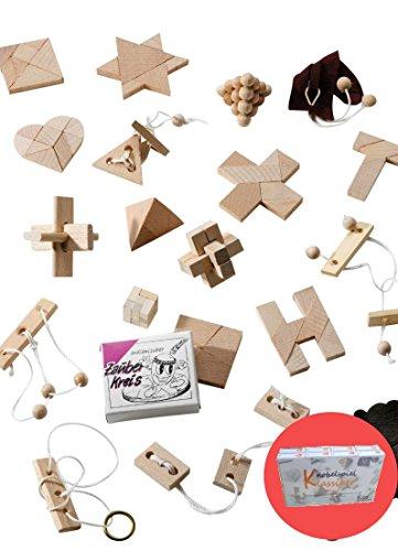 GICO-Knobelspiel-Klassiker-Sets-Diverse-Mitgebsel-Spiele-einzeln-Verpackt-Incl-Lsung-Geduldspiele-Geschicklichkeitsspiele-Puzzlespiel-Knobelspiele-Set-Rtselspiele-Adventskalender-Inhalt