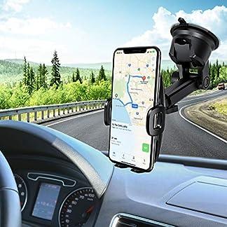 Mpow-Handyhalterung-Auto-Handyhalter-frs-Auto-KFZ-Smartphone-Halterung2-in-1-Auto-HandyhalterAmaturenbrett-Auto-HalterWindschutzscheib-Kfz-Handyhalterung-fr-iPhoneXSGalaxy98HTCLGGoogle-usw