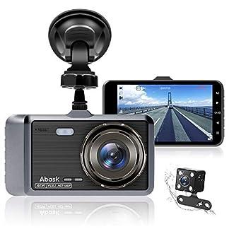 Dashcam-Abask-Autokamera-DVR-4-Zoll-Full-HD-1080P-170–Weitwinkel-Dashcam-Auto-Vorne-und-Hinten-mit-Nachtsicht-G-Sensor-WDR-Loop-Aufnahm-Parkberwachung-und-Bewegungserkennung