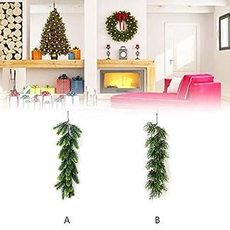 awhao-Weihnachtsgirlande-knstliche-Grnpflanze-Simulation-Rattan-fr-Weihnachten-Home-Tr-Fenster-Wand-Dekoration-Weihnachten-Hochzeit-Party-Decor-Usefulness