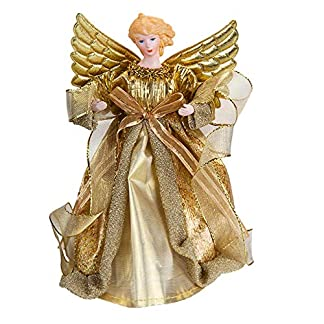 Widdle-Wonderland-Christbaumspitze-Engel-21-cm-goldfarben