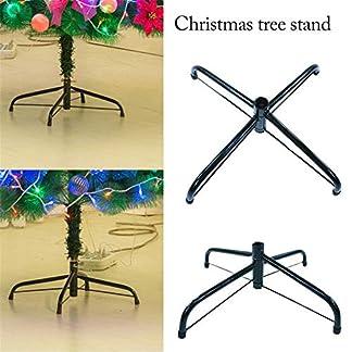 Kindlyperson-Knstliche-Christbaumstnder-Basis-Klapp-Weihnachtsbaum-Metallstnder-Rack-Zubehr-fr-Weihnachtsschmuck