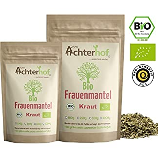 Frauenmanteltee-Bio-250g-Frauenmantel-Kraut-Tee-Schadstoffkontrolliert-aus-kontrolliert-biologischen-Anbau-vom-Achterhof