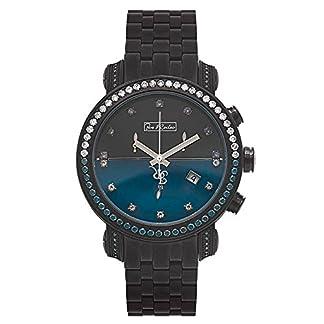 Joe-Rodeo-Diamant-Herren-Uhr-CLASSIC-schwarz-43-ctw