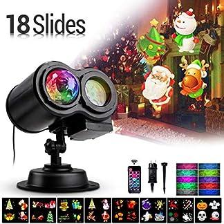 LED-Projektorlampe18-Folien-LED-Lichter-Projektor-Halloween-Weihnachten-Wasserwellen-Welleneffekt-Auenbeleuchtung-Ostern-Licht-Projektor-mit-Fernbedienung-fr-Party-Neujahr-Energieklasse-A