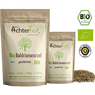 Baldrianwurzel-BIO-100g-Baldrian-Wurzel-getrocknet-Baldriantee-organic-Valerian-Root-Cut-vom-Achterhof