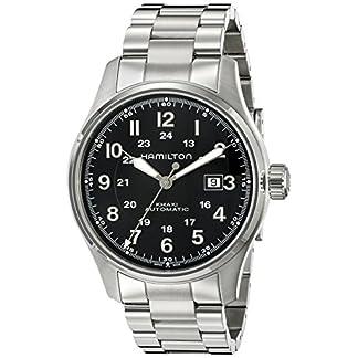 Hamilton-Herren-Analog-Automatik-Uhr-mit-Edelstahl-Armband-H70625133