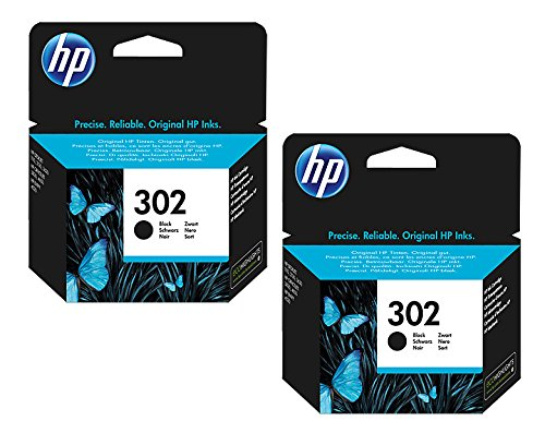 2x-Original-HP-Tintenpatrone-F6U66AE-HP-302-HP302-fr-HP-Officejet-3800-Series-BLACK-Leistung-ca-190-Seiten5
