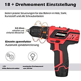 Rendio-Akkuschrauber-Professional-Akku-Bohrschrauber-Li-Ion-Bohrer-Treiber-Akkuschrauber-Set