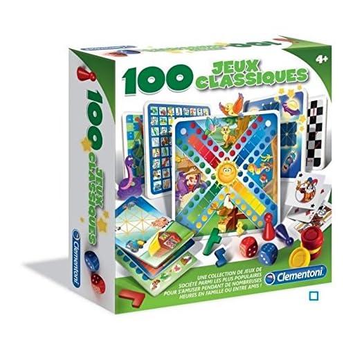 Clementoni-521838–100-Spielesammlung